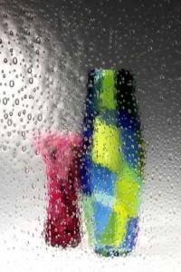 Glass in Bubbles Pattern