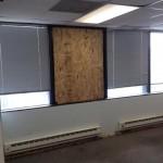 Before - Damaged Window