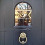 Front Door Glass Overlay