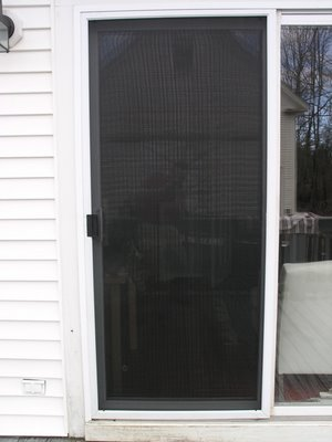 Screen repair mineola glass mirror Screen door replacement